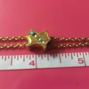 Jewelry - Vintage watch fob bracelet